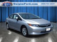 2012 Honda Civic 4dr Car LX Our Location is: Galpin
