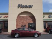 2012 Honda Civic 4dr Car LX Our Location is: Flower