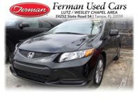 (813) 321-4487 ext.418 This 2012 Honda Civic Cpe EX-L