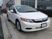 Honda Certified, One Owner Civic. This vehicle looks,