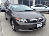 Honda Certified, One Owner Civic. This car looks,