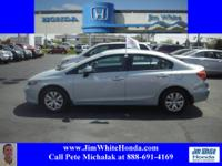 **SOLD HERE NEW**ONE LOCAL OWNER**HONDA CERTIFIED
