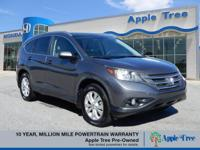 You'll love the look and feel of this 2012 Honda CR-V