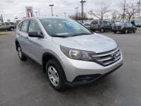 Well Equipped 2012 Honda CR-V LX in like new condition