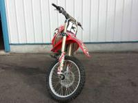 In addition the CRF250R gets a new cylinder head and