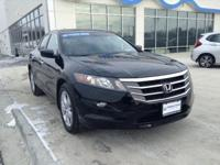 Honda Certified, One Owner Accord Crosstour EXL 4WD.