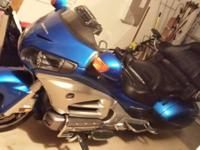 2012 Honda GL1800 Goldwing. 7 year unlimited miles