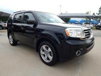We are excited to offer this 2012 Honda Pilot. This