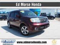 This 2012 Honda Pilot EX-L is proudly offered by Ed