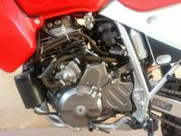 Brand New 2012 HONDA XR650L Mileage: 59 Red /White Dual