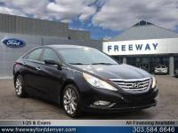Midnight Black 2012 Hyundai Sonata SE FWD 6-Speed