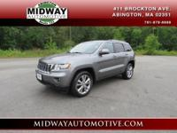 Clean CARFAX. Mineral Gray Metallic Clearcoat 2012 Jeep