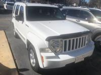 Bright White 2012 Jeep Liberty Sport RWD 4-Speed