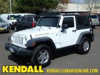 Rubicon ** Manual Transmission ** Roof Racks ** Fog