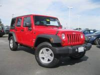 One Owner & Low Miles Jeep Wrangler Unlimited Sport!