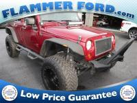 2012 Jeep Wrangler Deep Cherry Red Crystal **ALLOY