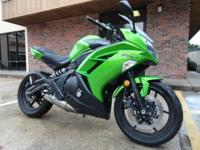 2012 Kawasaki ninja 650r, 8431 miles, Green, One owner,