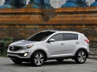Clean CARFAX. This Kia Sportage is well equipped and