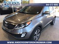 This Kia Sportage has a strong Gas I4 2.4L/144 engine
