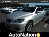Trying to find a clean, well-cared for 2012 Lexus IS