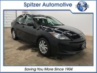 CARFAX One-Owner. Clean CARFAX. Black Mica 2012 Mazda
