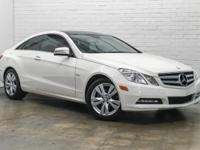 Very Low Mileage Ultra Clean 2012 Mercedes-Benz E350