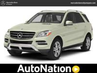 CERTIFIED BY BENZ !!! ARTIC WHITE ML 350 4 MATIC AWD