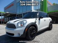 2012 Mini Countryman! White over Black Leather, Premium