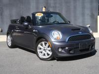 **2012 MINI COOPER S CONVERTIBLE!!**VERY LOW