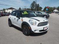 This 2012 Mini Cooper is ready to be driven home today.