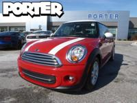 That's right, we have this 2012 Cooper with only 40,257