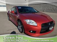 2012 Mitsubishi Eclipse GT Available at Corwin Ford