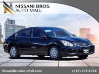New Price! Clean CARFAX. Black 2012 Nissan Altima 2.5 S