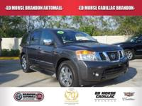 Check out this gently-used 2012 Nissan Armada we