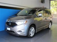 CARFAX One-Owner. Clean CARFAX. Gray 2012 Nissan Quest
