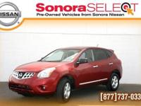 2012 NISSAN ROGUE S, FWD 2.5L I4 CVT, ONE OWNER, LOW