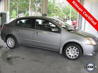 2012 Nissan Sentra 2.0 S ** Nissan Certified ** Low,