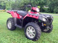 2012 POLARIS SPORTSMAN 850 XP H.O. 4X4 IN EXCELLENT