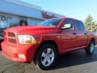2012 RAM 1500 EXPRESS 4X4 CREW CAB WITH LES THAN 8500