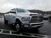 Bright White Clearcoat 2012 Ram 3500 Laramie 4WD