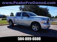 This is a very clean 2012 Dodge Ram 1500 with great