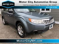 This is one great Subaru Forester.  New Inventory*