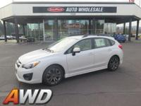 Lively yet precise, this 2012 Subaru Impreza Wagon is a