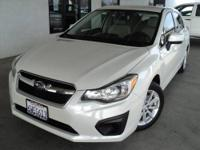 Subaru Certified!! - HATCHBACK! Perfect Color