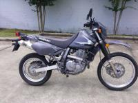 I currently have a 2012 Suzuki Dr 650 Dual Sport for