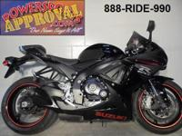 2012 Suzuki GSXR 600 crotch rocket for sale only $6500!