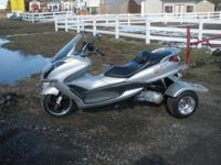 THIS TRIKE WAS OVER $ 2500.00 NEW, LESS THAN 700 MILES