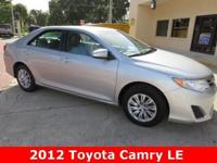 2013 Toyota Camry LE ** 35 MPG ** Automatic ** Power