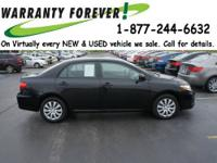 2012 Toyota Corolla 4 Dr Sedan LE Our Location is:
