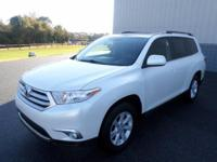 This 2012 Toyota Highlander 4WD 4dr V6 SE is proudly
